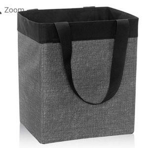 31 Essential Storage Tote Charcoal Crosshatch